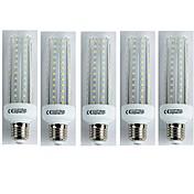 5pcs 19W 1600 lm E27 Bombillas LED de Mazorca T30 96 leds SMD 3528 Blanco Fresco AC 110-240V