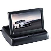 4.3 tommer (ca. 11cm) Bilomvendende skjerm Foldbar til Bil