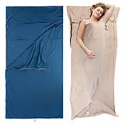 Naturehike Saco de dormir Liner Saco Rectangular 20°C Portátil Muy ligero Descanso en Viaje 210*100X100 Camping y senderismo Al Aire