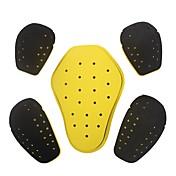 herobiker motorsykkel racing protector eva høy skumrende motocross skuldre albuer tilbake 5 stk beskyttelsesutstyr