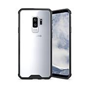 Etui Til Samsung Galaxy S9 S9 Plus Støtsikker Gjennomsiktig Bakdeksel Helfarge Rustning Hard Akryl til S9 Plus S9 S8 Plus S8 S7 edge S7