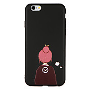 Funda Para Apple iPhone X iPhone 8 Diseños Funda Trasera Caricatura Suave TPU para iPhone X iPhone 8 Plus iPhone 8 iPhone 7 Plus iPhone 7