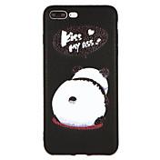 Funda Para Apple iPhone X / iPhone 8 Diseños Funda Trasera Animal Dura Cuero de PU para iPhone X / iPhone 8 Plus / iPhone 8