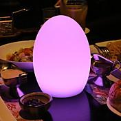 1pc LED Night Light Innebygd Li-batteridrevet / USB Port Fjernstyrt / Oppladbar / Med USB-port