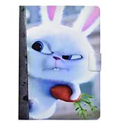 Funda Para Apple iPad 10.5 iPad Pro 9.7 Soporte de Coche con Soporte Flip Diseños Funda de Cuerpo Entero Animal Dura Cuero de PU para
