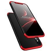 Etui Til Apple iPhone X Støtsikker Ultratynn Heldekkende etui Helfarge Hard Plast til iPhone X iPhone 8 Plus iPhone 8 iPhone 7 Plus