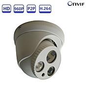 strongshine® 1.3mp 960p pan / tilt fullt h.264 ip dome kamera med infrarød dag og natt sikkerhet overvåking støtte onvif poe