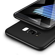 Etui Til Samsung Galaxy S8 Plus S8 Ultratynn Matt Bakdeksel Helfarge Myk TPU til S8 Plus S8