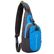 6L Bolsos de hombro de la honda - Ligeras, Resistente a la lluvia, Listo para vestir Senderismo, Camping Oxford Rojo, Verde, Azul
