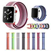 Klokkerem til Apple Watch Series 3 / 2 / 1 Apple Moderne spenne Nylon Håndleddsrem