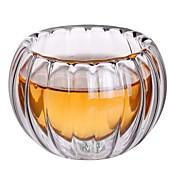 Drikkeglas High Boron Glass Tekopper / Glass Varmeisolering / kjæreste gave / Søt 6pcs