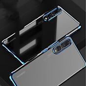 Funda Para Huawei MediaPad P20 / P20 Pro Cromado / Transparente Funda Trasera Un Color Suave TPU para Huawei P20 / Huawei P20 Pro / Huawei P20 lite