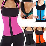 Body Shaper / Hot Sweat Workout Tank Top Slimming Vest Med 1 pcs neopren Stretch, Ingen Glidelås Vekttap, Kalorier brent, Tummy Fat Burner Til Yoga & Danse Sko / Trening & Fitness / Treningssenter