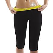 Pantalones Adelgazantes Con Neopreno Eslático Pérdida de peso, Quemador de grasa, Abdomen Atlético por Yoga / Ejercicio y Fitness / Rutina de ejercicio Hombre / Mujer Entrenamiento