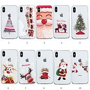 Funda Para Apple iPhone XR / iPhone XS Max Diseños Funda Trasera Navidad Suave TPU para iPhone XS / iPhone XR / iPhone XS Max