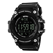 SKMEI -1227 Smartwatch Water Resistant / Water Proof Long Standby Pedometers Alarm Clock Multifunction Light and Convenient Wearable