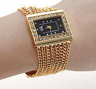 Women's Fashion Watch Quartz Band Gold