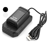 USB Batteries and Chargers for Xbox 360 Rechargeable Wired