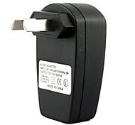 Недорогие -АС USB разъем AC DC питания зарядное устройство адаптер mp3 mp4 DV устройство (черный)