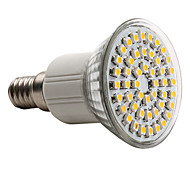 E14 LED Spotlight MR16 48 SMD 3528 150lm Warm White 2800K AC 220-240V