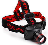Headlamps Headlight LED 800 lm 3 Mode Cree XR-E Q5 for Camping/Hiking/Caving Batteries not included