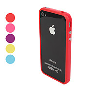 cheap -Case For iPhone 4/4S Apple Bumper Soft TPU for iPhone 4s/4