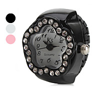 Women's Star Diamond Style Alloy Analog Quartz Ring Watch (Assorted Colors) Cool Watches Unique Watches
