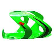 Велоспорт Бутылку воды клеткой Велосипедный спорт/Велоспорт Зеленый Углеволокно