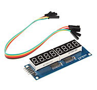 cheap -8 x Seven-Segment Displays Module for (For Arduino) (595 Driver)