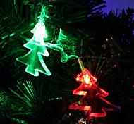 7M 30-светодиодная елка-Shaped Красочный светодиодные Газа Fairy лампы для фестиваля украшения (220)