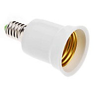cheap -E14 to E27 E27 Light Socket Plastic