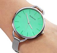 Women's Steel Analog Quartz Wrist Watch (Silver) Cool Watches Unique Watches
