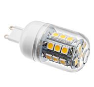 cheap -2800 lm G9 LED Corn Lights T 27 leds SMD 5050 Warm White AC 220-240V