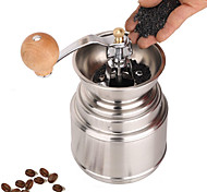 Stainless Steel Muller Manual Grinder Coffee Mill, W16.5cm x L9.5cm x H9cm