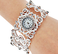 cheap -Women's Wrist watch Bracelet Watch Fashion Watch Japanese Quartz Casual Watch Alloy Band Bohemian Elegant Silver