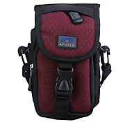 Ripstop Polyester Padded Soft Protective Carrying Bag Case with Hooks for Slim Card Digital Camera