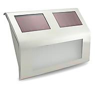 Недорогие -1шт настенный светильник свет сада Светодиодные бусины Высокомощный LED Перезаряжаемый Декоративная Холодный белый