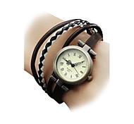 cheap -Women's Wrist watch Bracelet Watch Fashion Watch Japanese Quartz Casual Watch Genuine Leather Band Bohemian Multi-Colored