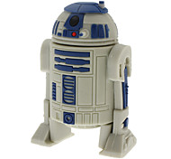 8GB USB disk R2-D2 Robot High-speed USB 2.0 Flash Pen Drive Gray