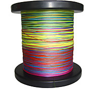 cheap -500M / 550 Yards PE Braided Line / Dyneema / Superline Fishing LineGreen / Orange / Yellow / Purple / Fuchsia / Red / Blue / Assorted