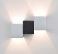 AC 85-265 2 LED Integrado Moderno/Contemporáneo Pintura Característica for LED Mini Estilo Bombilla Incluida,Luz Ambiente Luz de pared