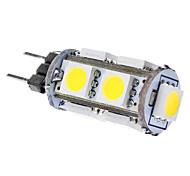 economico -SENCART 6000 lm G4 LED a pannocchia T 9 leds SMD 5050 Bianco DC 12V