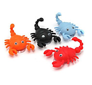 Mini Cute Scorpion Shape Hook Pothook Cap Hanger 2 Suction Cups Random Color