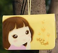 Недорогие -Держатель печенье девочка кредитной карты (случайный цвет, в течение 12 карт)