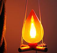 Дрова Стиль лампы Night Light (случайный цвет)