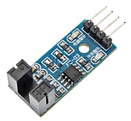 LM393 Comparator Speed Sensor Module for (For Arduino)-Blue (Works with Official (For Arduino) Boards)