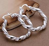 cheap -Women's Hoop Earrings - Cross For Daily