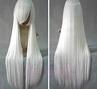 Cosplay Wigs InuYasha Inu Yasha White Long / Straight Anime Cosplay Wigs 80 CM Heat Resistant Fiber Male