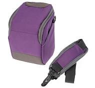 Недорогие -B-01-PL Фиолетовый Кроссбоди одно плечо Сумка для фотокамеры DSLR камеры