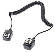 câble de connexion 430EX flash lampe de poche 580EX pour Canon EOS 5d 6d 7d iii 70d 60d 700d 650d appareil photo reflex numérique - noir (360cm)